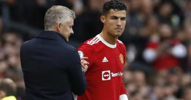 Cristiano Ronaldo recadré par Solksjaer après la défaite face à Leicester