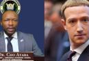 leur leader répond à Zuckerberg, DG de Facebook